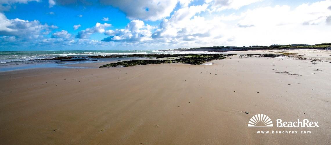 France - Normandie -  Cherbourg-en-Cotentin - Plage de Querqueville