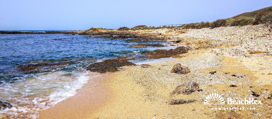 Italy - Lazio -  Civitavecchia - Beach Valdaliga