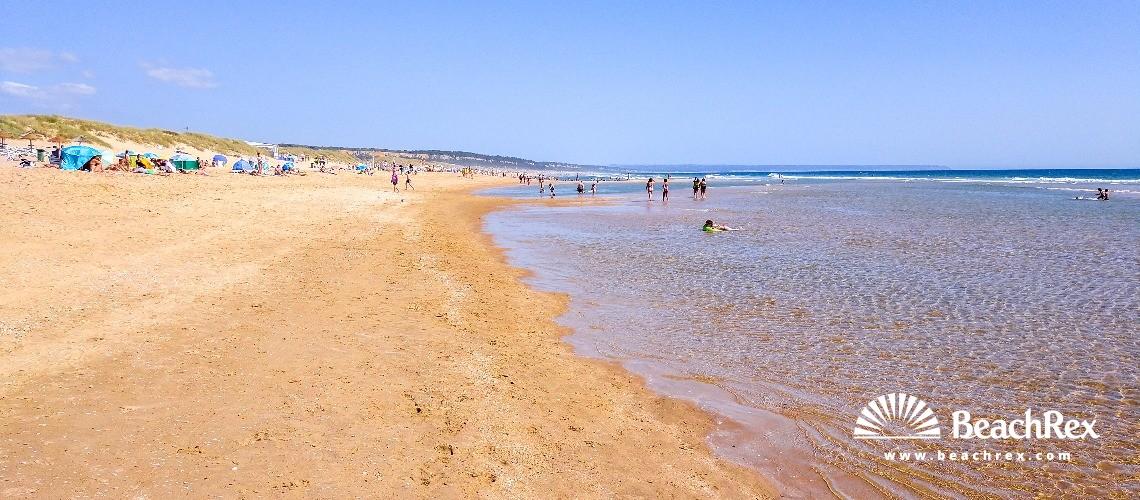 Portugal - Setubal -  Costa da Caparica - Praia da Rainha