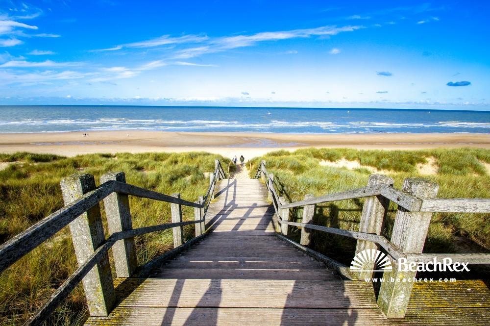 Belgium - WestVlaanderen -  De Haan - Strand Harendijke