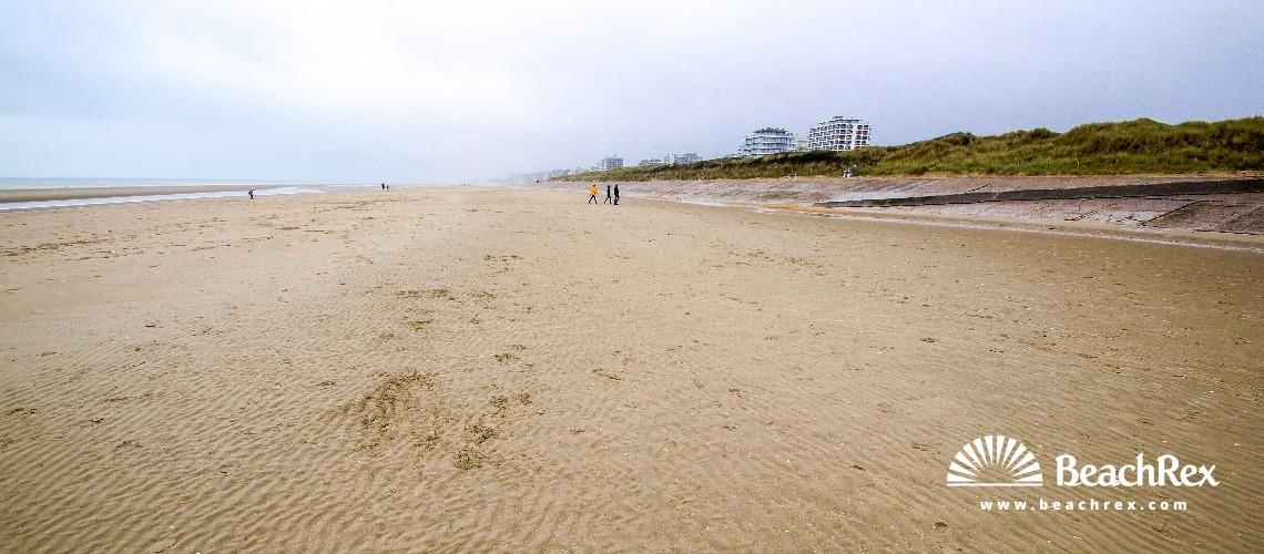 Belgium - WestVlaanderen -  De Panne - Strand De Westhoek