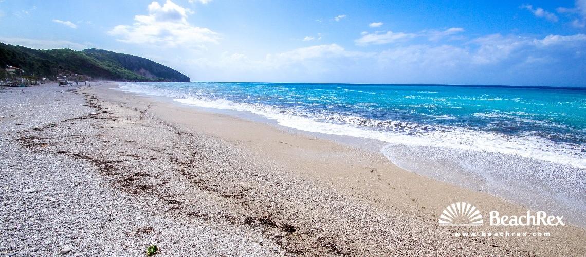 Albania - Vlorë -  Dhërmi - Plazhi Dhërmi