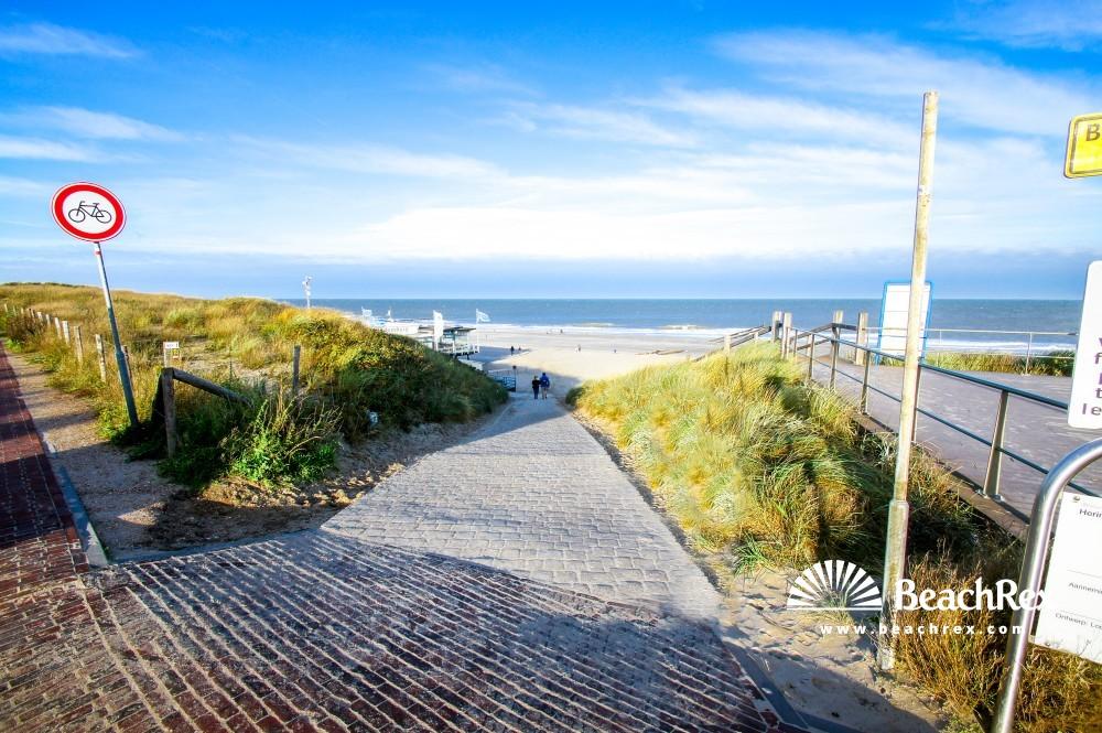 Netherlands - Zeeland -  Domburg - Strand Duinstraat