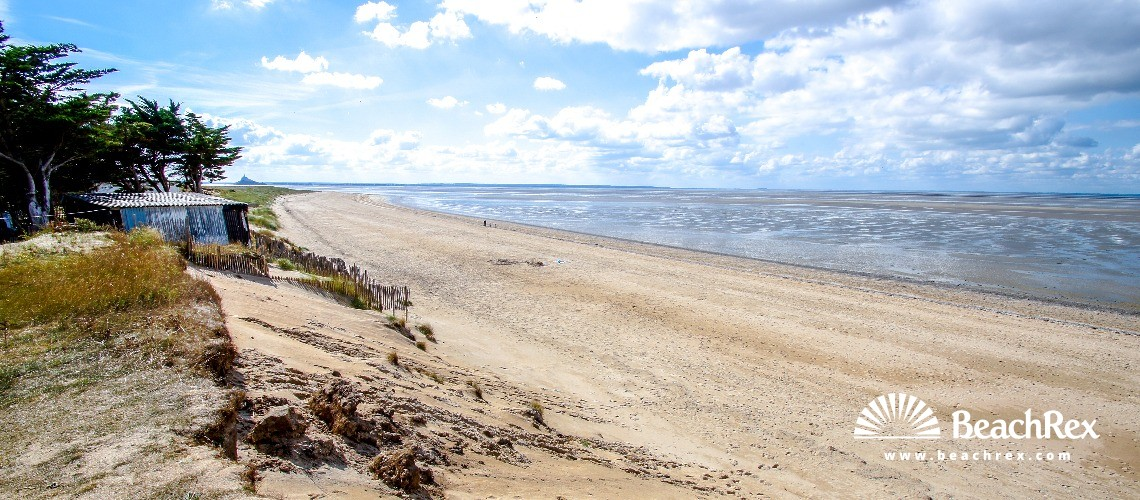 France - Normandie -  Dragey-Ronthon - Plage Dragey-Ronthon