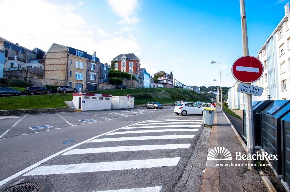 France - Normandie -  Fécamp - Plage de Fécamp