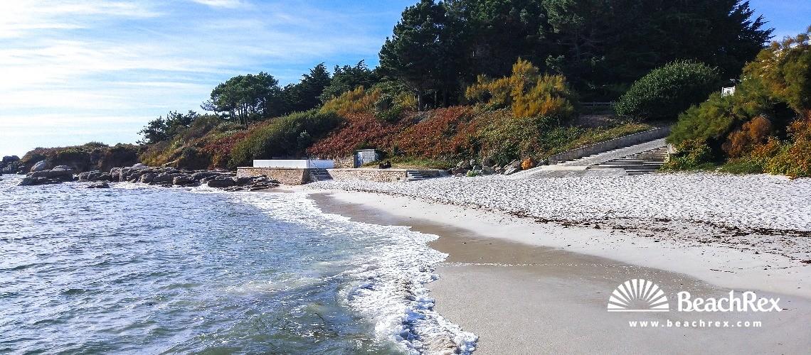 France - Bretagne -  Fouesnant - Plage des Dunes
