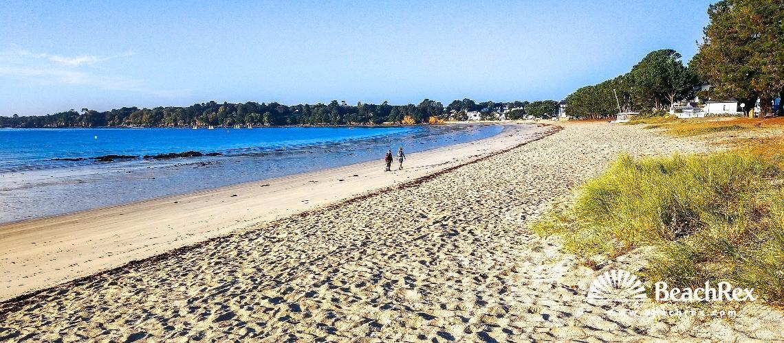 France - Bretagne -  Fouesnant - Plage du Cap Coz