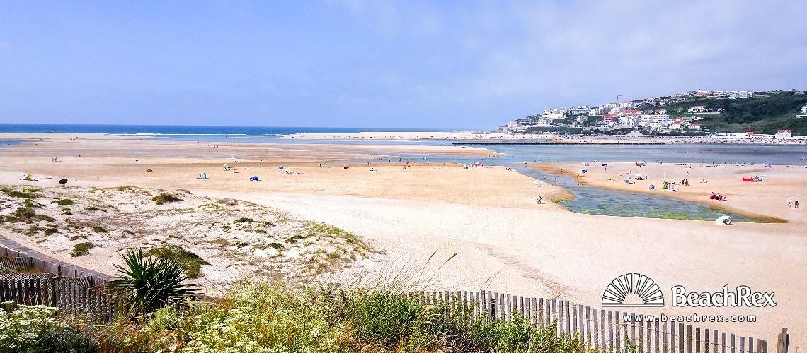 Portugal - Leiria -  Foz do Arelho - Praia Foz do Arelho
