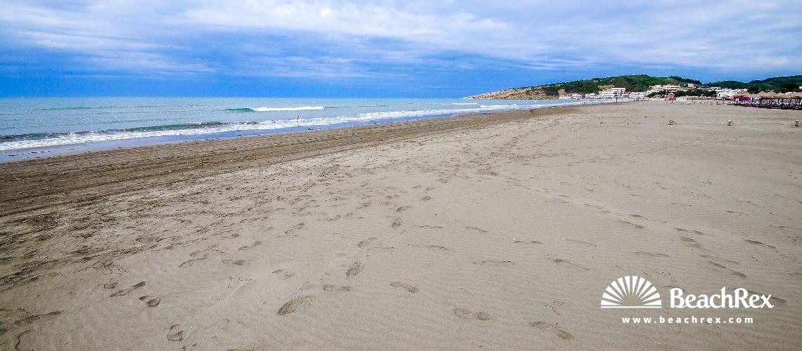 Montenegro - Ulcinj -  Gjerana - beach Miami