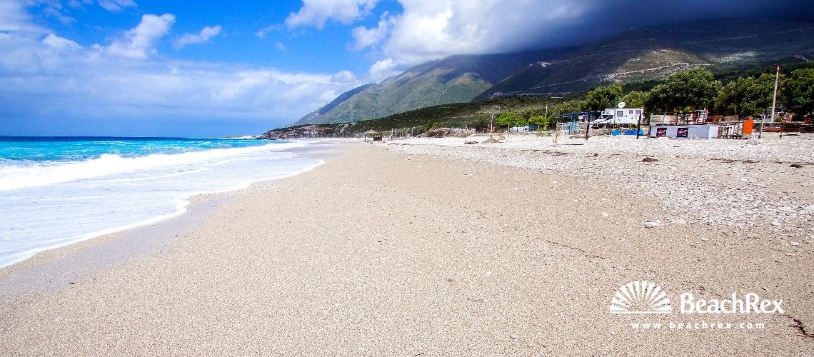Albania - Vlorë -  Gjilekë - Plazhi Drymades