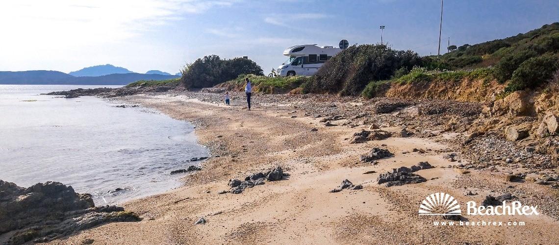 Italy - Sassari - Sardegna -  Golfo Aranci - Beach dei Baracconi