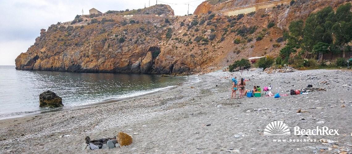 Spain - Andalucia -  Gualchos - Playa La Rijana