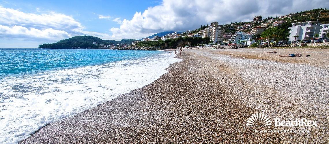 Albania - Vlorë -  Himarë - Plazhi Guma