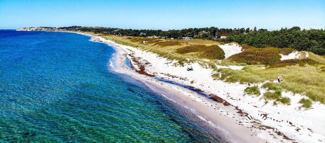 Denmark - Syddanmark - Langeland -  Humble - Strand Bjørnehøj