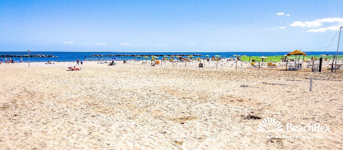 Italy - EmiliaRomagna -  Igea Marina - Beach Igea Marina