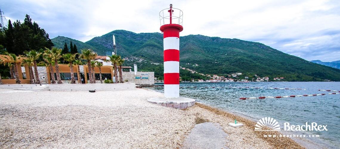 Montenegro - Herceg Novi -  Jošice - Beach Adriatica
