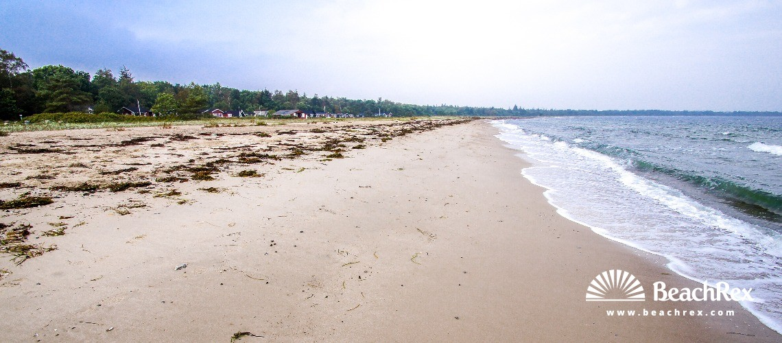Danska - Midtjylland -  Juelsminde - Strand Sandbjerg Vig