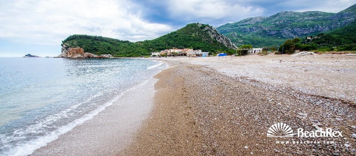 Crna Gora - Budva -  Kaluđerac - Plaža Buljarica