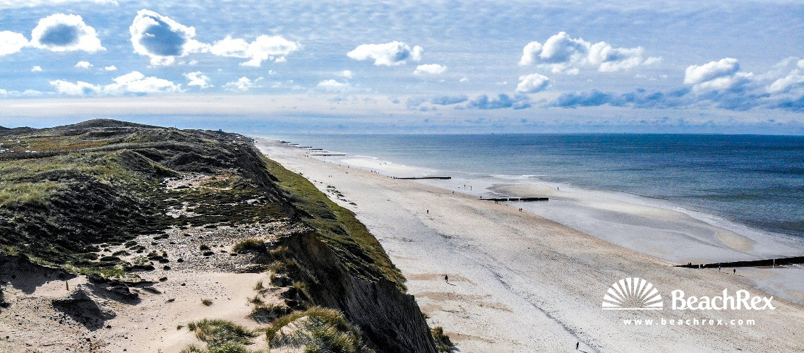 Germany - SchleswigHolstein - Sylt -  Kampen - Strand Rotes Kliff