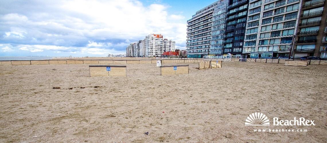 Belgium - WestVlaanderen -  Knokke-Heist - Strand Zeegras