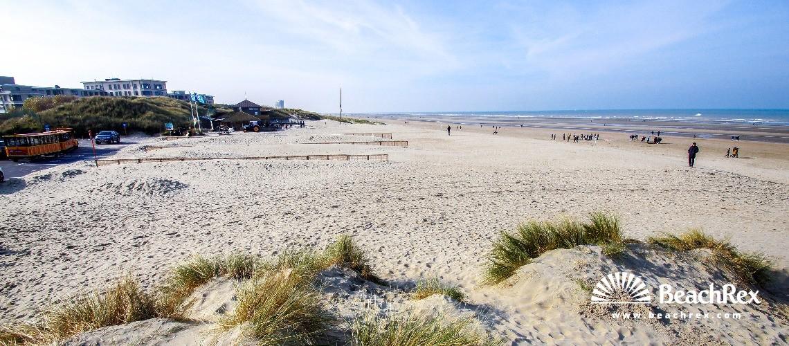 Belgium - WestVlaanderen -  Koksijde - Strand Groenendijk Bad