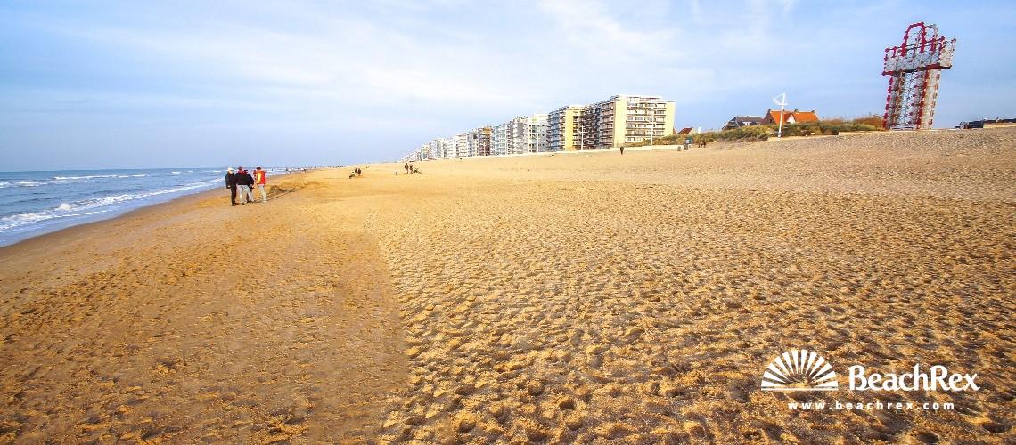 Belgium - WestVlaanderen -  Koksijde - Strand Ster Der Zee