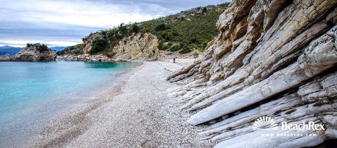 Albania - Vlorë -  Ksamil - Plazhi i Pasqyrave