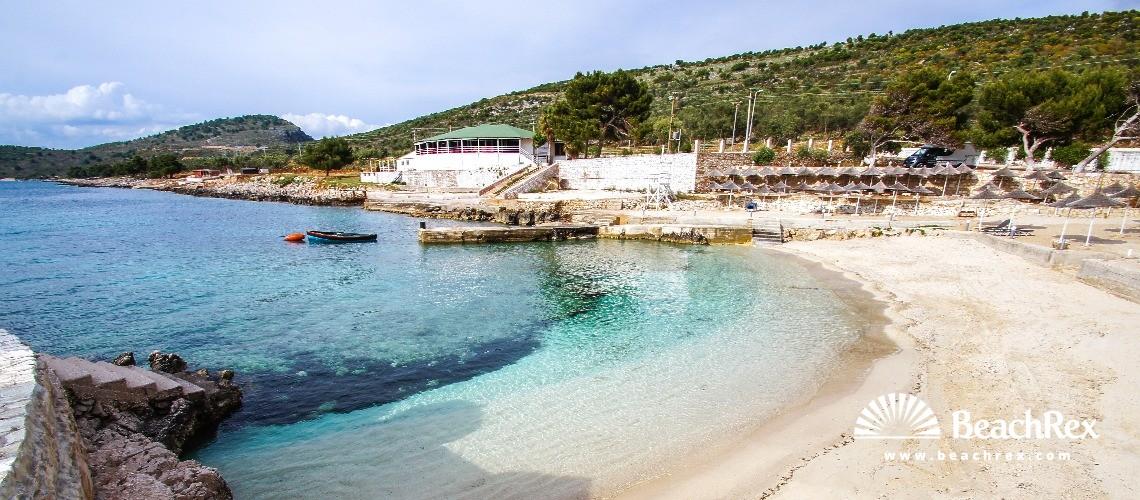 Albania - Vlorë -  Ksamil - Plazhi Ksamil 2