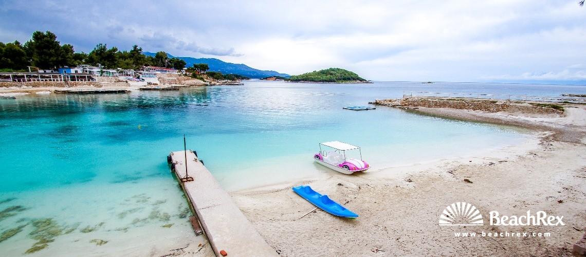 Albania - Vlorë -  Ksamil - Plazhi Ksamil 4