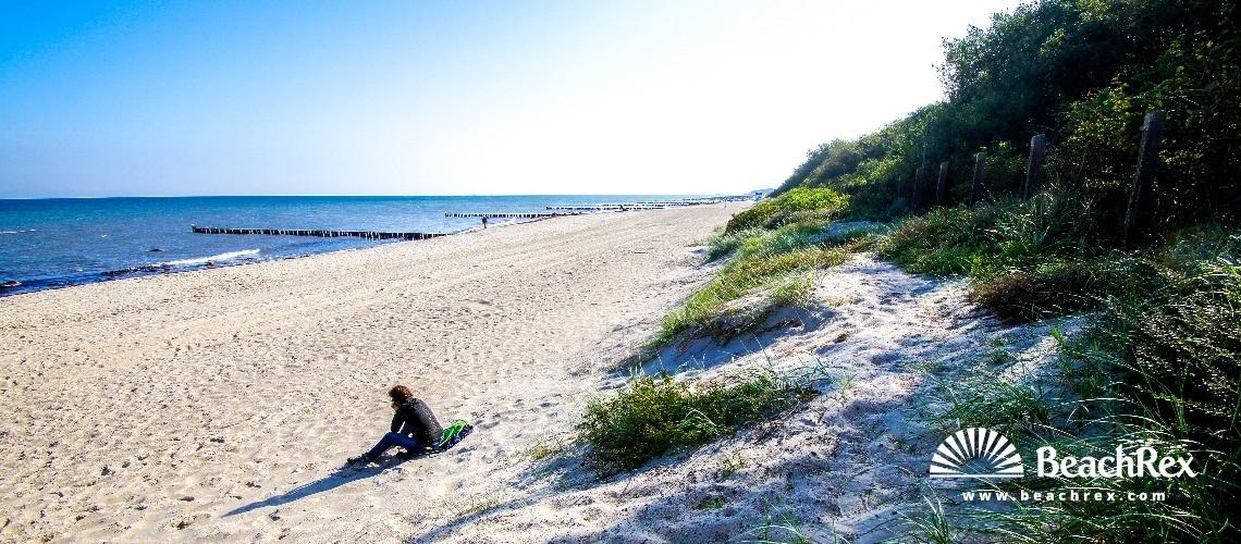 Germany - MecklenburgVorpommern -  Kühlungsborn - Strand Kühlungsborn