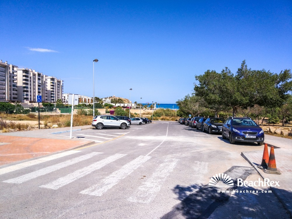 Spain - Valencia -  La Vila Joiosa - Platja Bol Nou