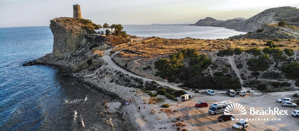 Spain - Valencia -  La Vila Joiosa - Platja del Xarco
