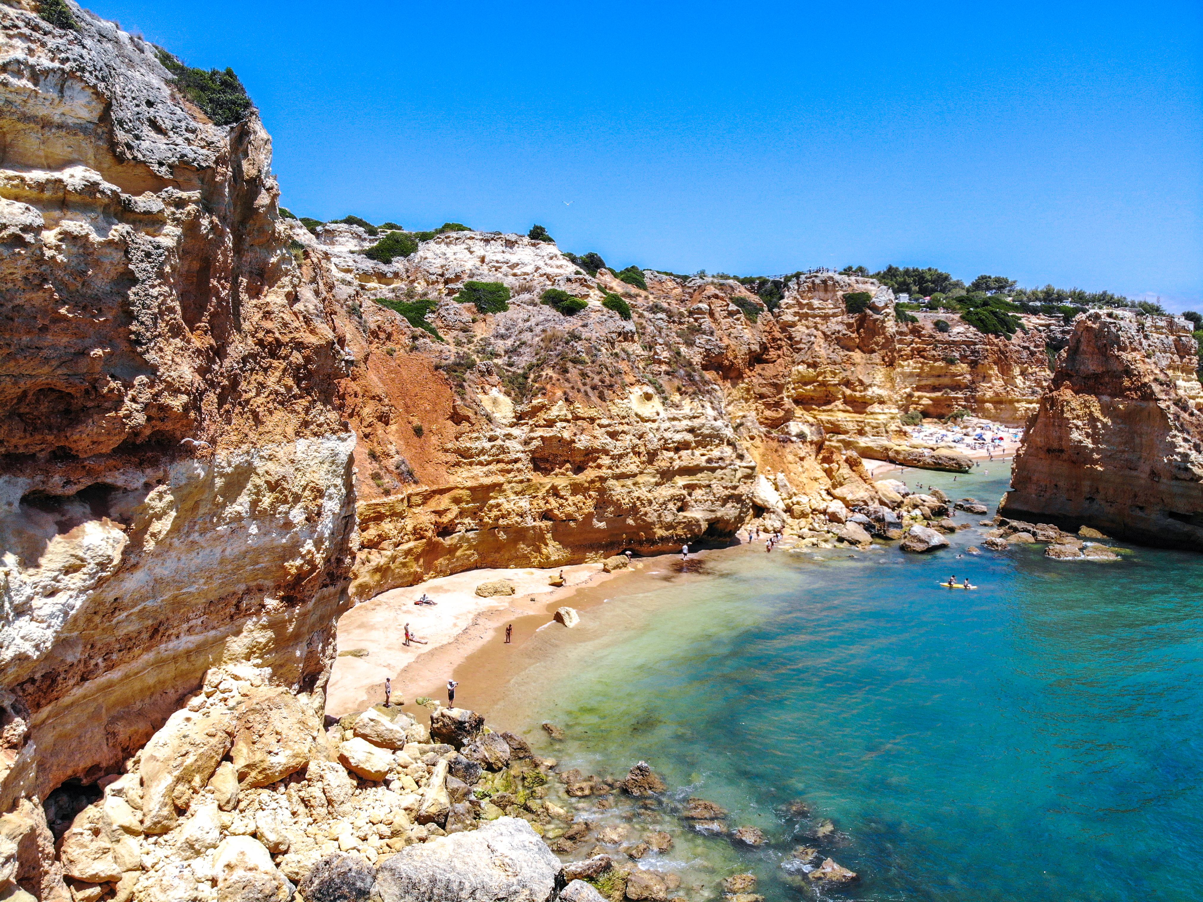 Portugal - Algarve -  Lagoa - Praia da Marinha