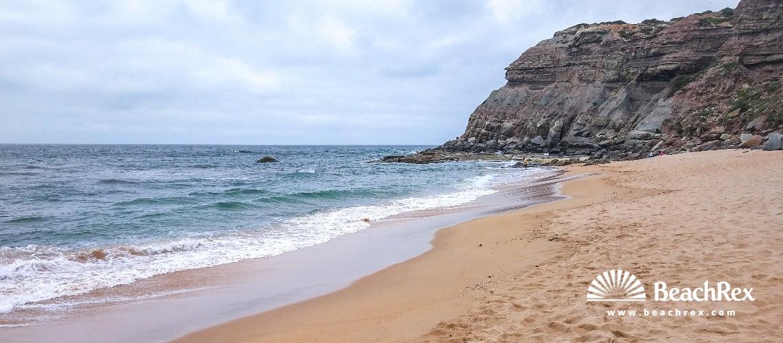 Portugal - Lisboa -  Lourinhã - Praia Vale dos Frades