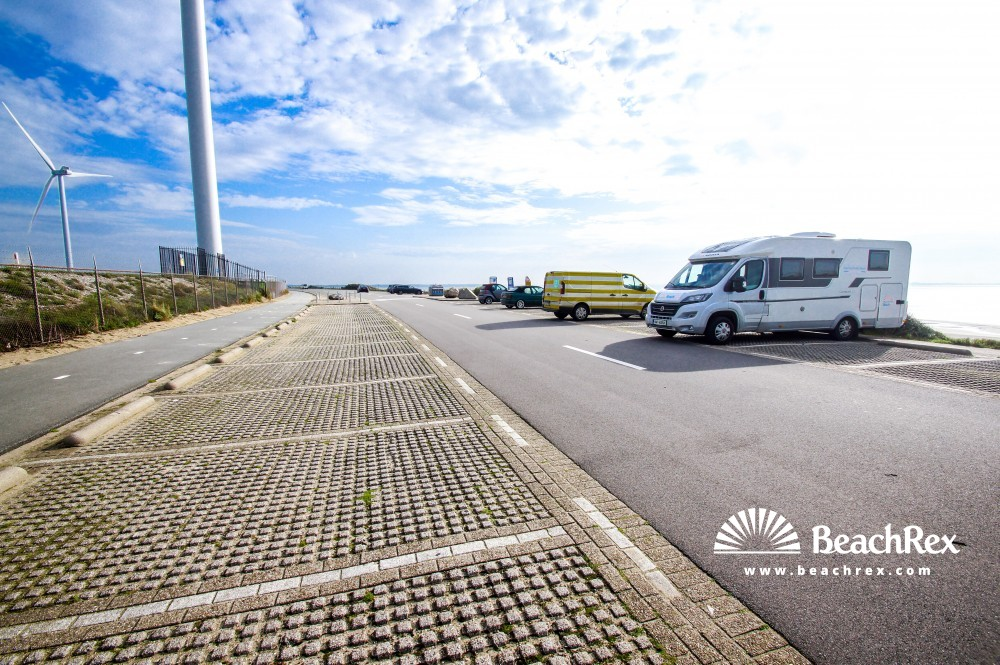 Netherlands - ZuidHolland -  Maasvlakte Rotterdam - Strand Slufter