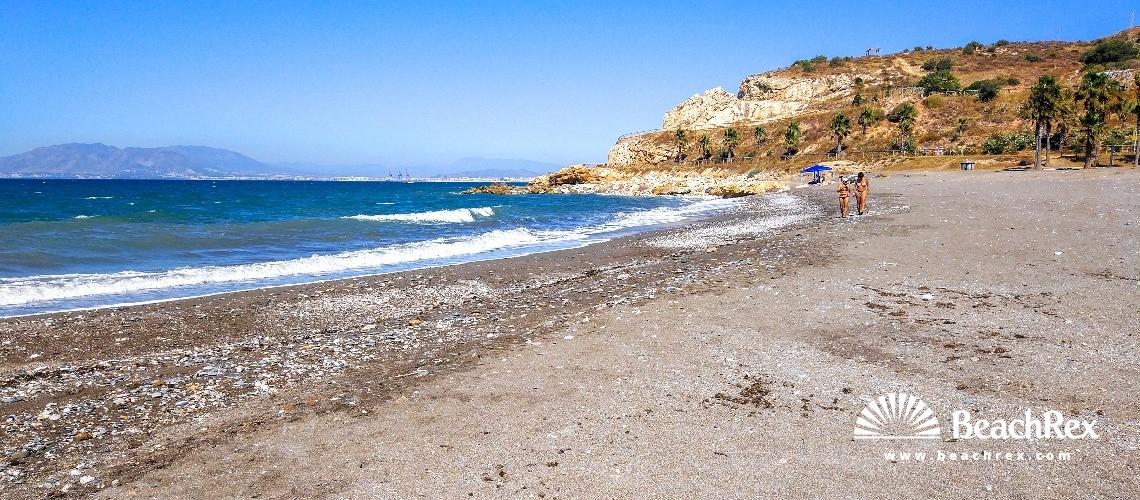 Spain - Andalucia -  Málaga - Playa Peñon
