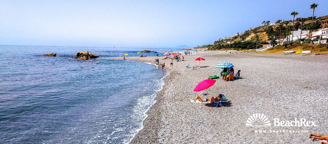 Spain - Andalucia -  Manilva - Playa de las conchas de Manilva