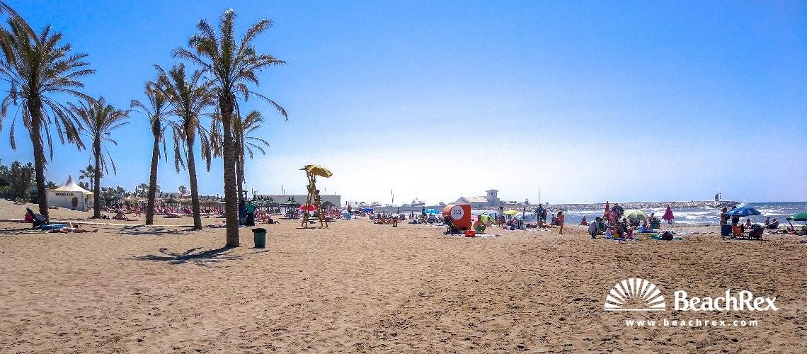 Spain - Andalucia -  Marbella - Playa de Artola