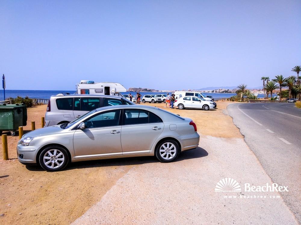 Spain - Murcia -  Mazarrón - Playa de el Mojon