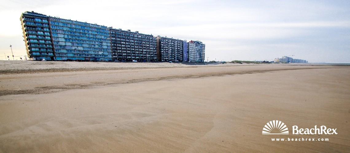 Belgium - WestVlaanderen -  Middelkerke - Strand Krokodiel