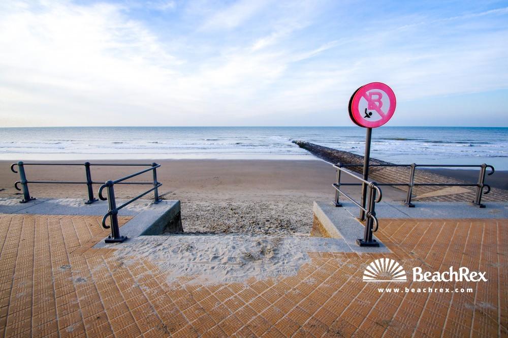 Belgium - WestVlaanderen -  Middelkerke - Strand Raversijde Domein