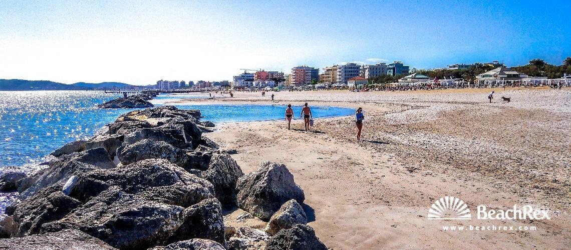 Italy - EmiliaRomagna -  Misano Adriatico - Beach Misano Adriatico