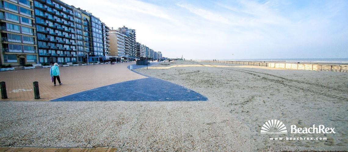 Belgium - WestVlaanderen -  Nieuwpoort - Strand Nieuwpoort Bad
