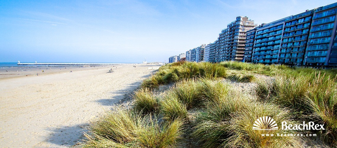Belgium - WestVlaanderen -  Nieuwpoort - Strand Zonnebloem