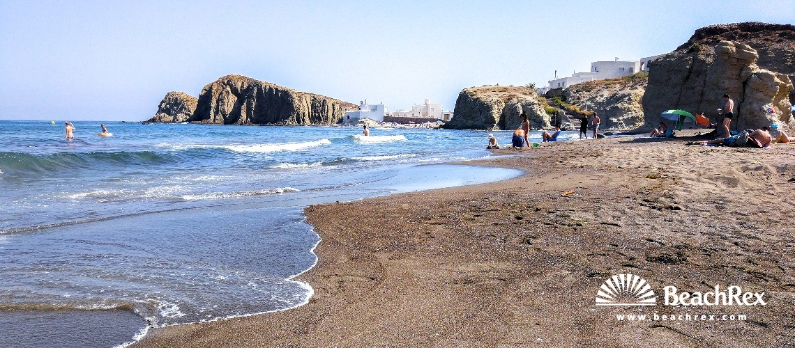 Spain - Andalucia -  Nijar - Playa del Peñón Blanco