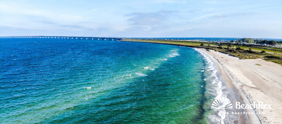 Denmark - Syddanmark - Funen -  Nyborg - Strand Fyns