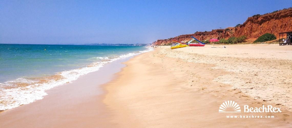 Portugal - Algarve -  Olhos de Água - Praia da Rocha Bainxinha Poente