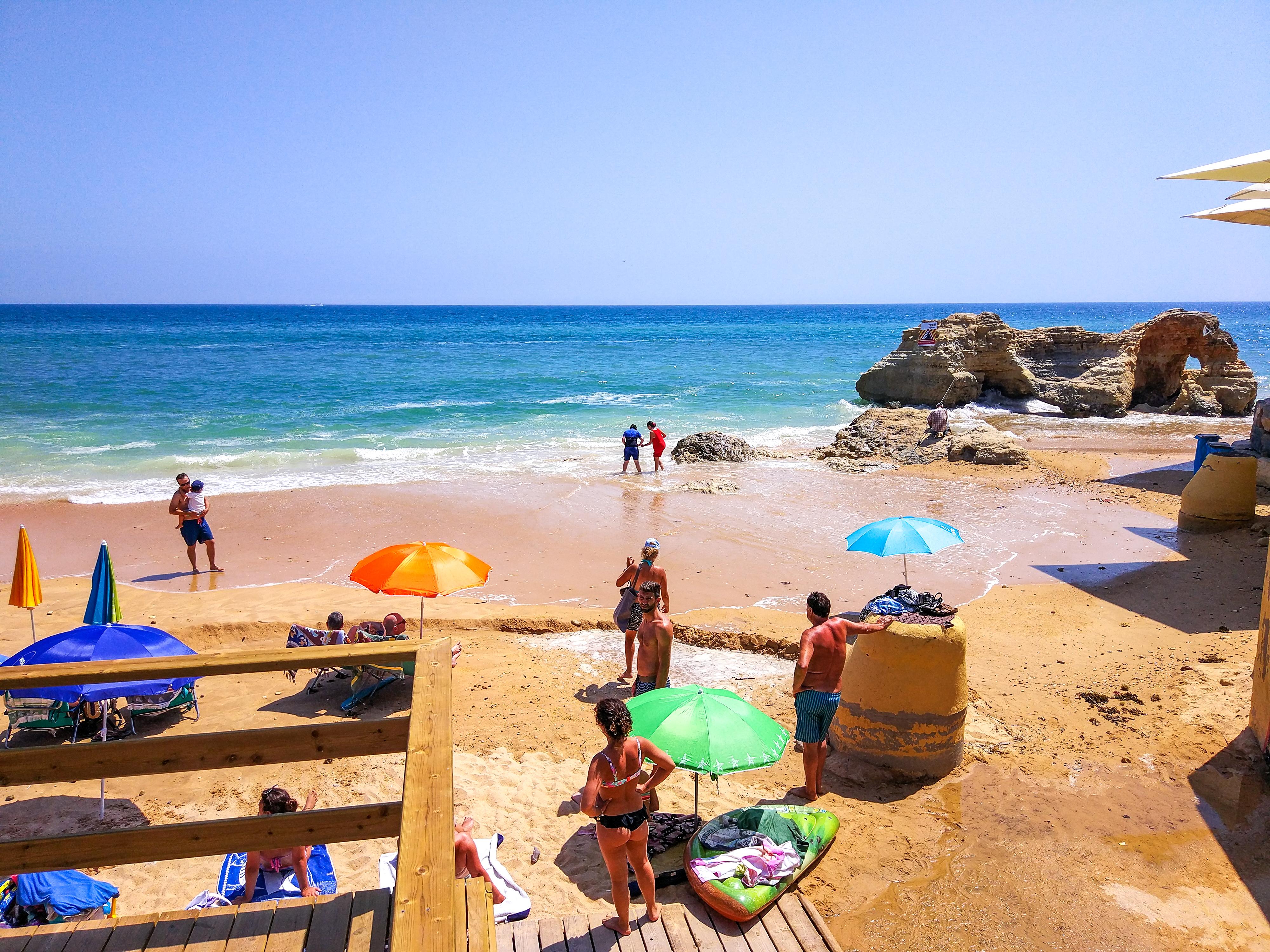 Portugal - Algarve -  Olhos de Água - Praia dos Olhos de Água