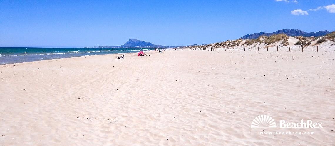Spain - Valencia -  Oliva - Platja de l'Aigua Morta