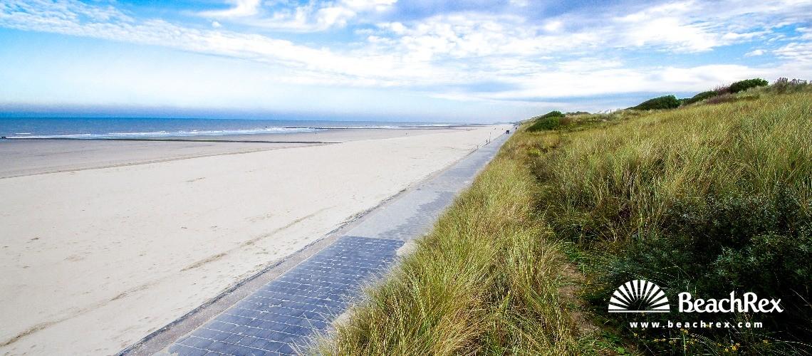Belgium - WestVlaanderen -  Oostende - Strand Groenendijk